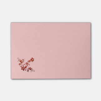 Beautiful Floral Post It Notes Post-it® Notes