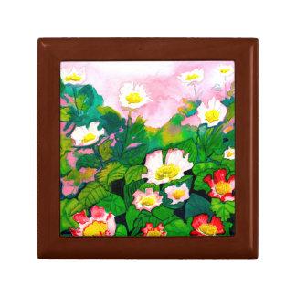 Beautiful Floral Rose Watercolour Gift Box