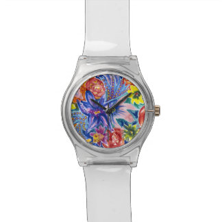 Beautiful Floral Watercolour May28th Watch