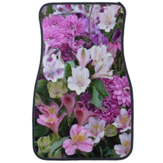 Beautiful Flower Bouquet Car Mat