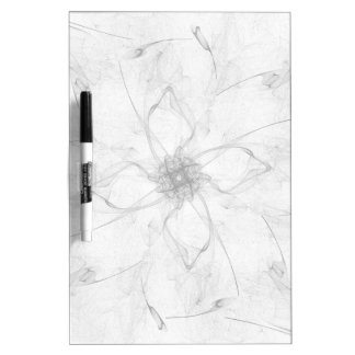 Beautiful Flower Dry Erase Board