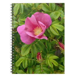 Beautiful Flower in Wonderland Spiral Notebook