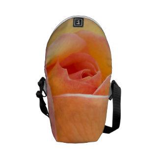 Beautiful Flower Pic Messenger Bags