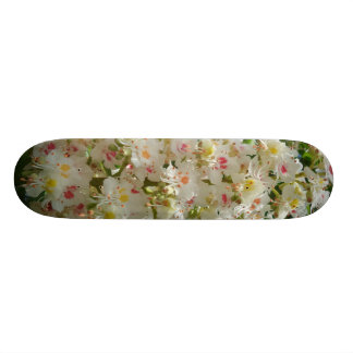 Beautiful Flower Skateboard