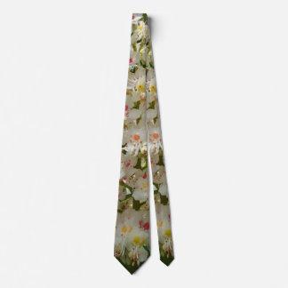 Beautiful Flower Tie