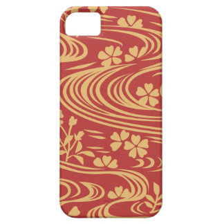 Beautiful flowers flowing river floats case for the iPhone 5