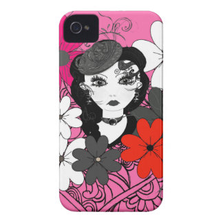 Beautiful Flowers for A Pretty Lady iPhone 4 Cover