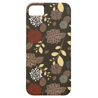 Beautiful flowers leaves branches iPhone 5 cover