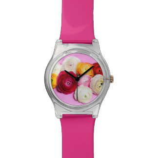 Beautiful flowers watch
