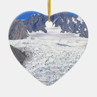 Beautiful Fox Glacier New Zealand Christmas Ornament
