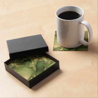Beautiful Fractal Art Coaster