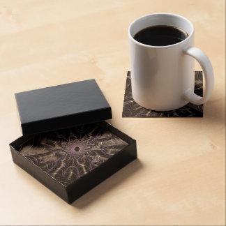 Beautiful Fractal Art Drink Coaster