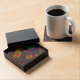 Beautiful Fractal Art Beverage Coaster