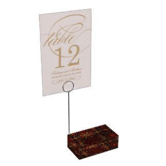 Beautiful Fractal Art Table Card Holder