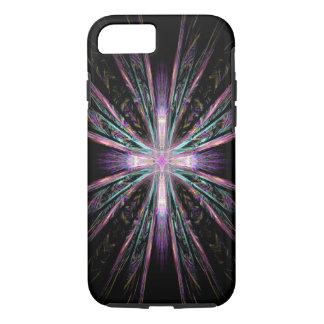 Beautiful fractal cross iPhone 7 case