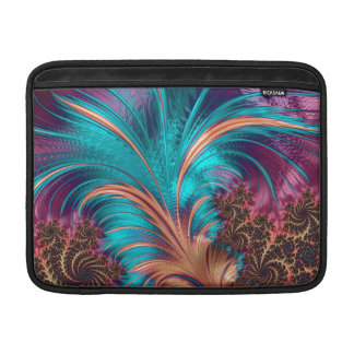 Beautiful Fractal Feather Design Sleeve For MacBook Air