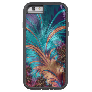 Beautiful Fractal Feather Design Tough Xtreme iPhone 6 Case