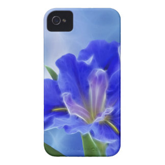 Beautiful fractal iris and its meaning iPhone 4 case
