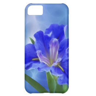 Beautiful fractal iris and its meaning iPhone 5C case