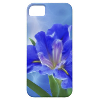 Beautiful fractal iris and its meaning iPhone 5 case