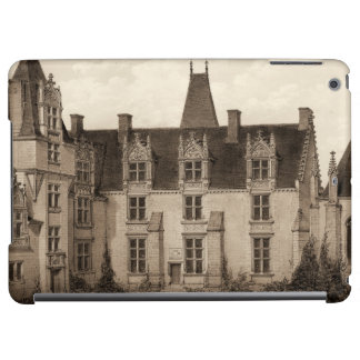 Beautiful French Chateau in Sepia Tones