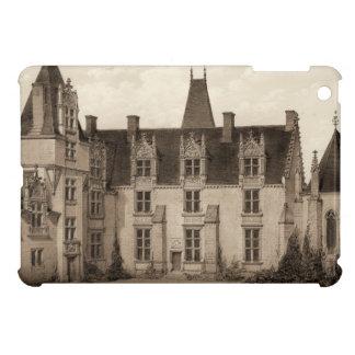 Beautiful French Chateau in Sepia Tones iPad Mini Case