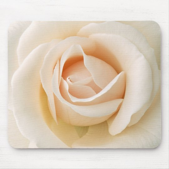 Beautiful Fresh Rose Mouse Mat