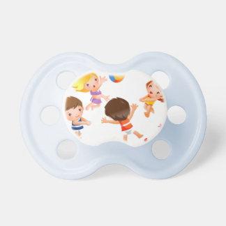 Beautiful, fun, carefree, and cute baby pacifiers