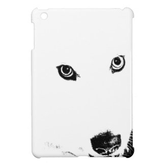 Beautiful furry Samoyed white dog iPad Mini Covers