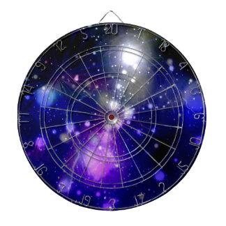 Beautiful galaxy dartboard