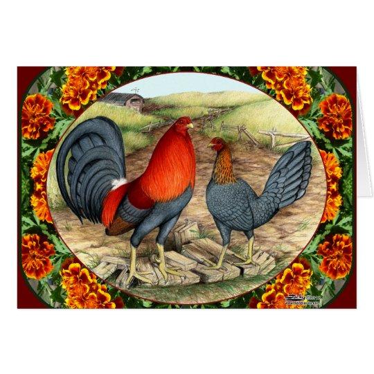 Beautiful Game Fowl Card