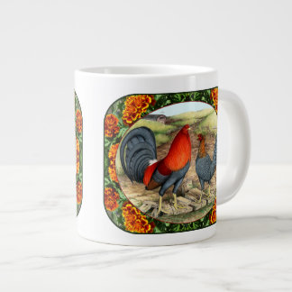 Beautiful Game Fowl Jumbo Mug