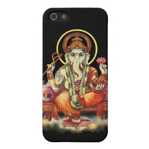 Beautiful Ganesha Cover For iPhone 5