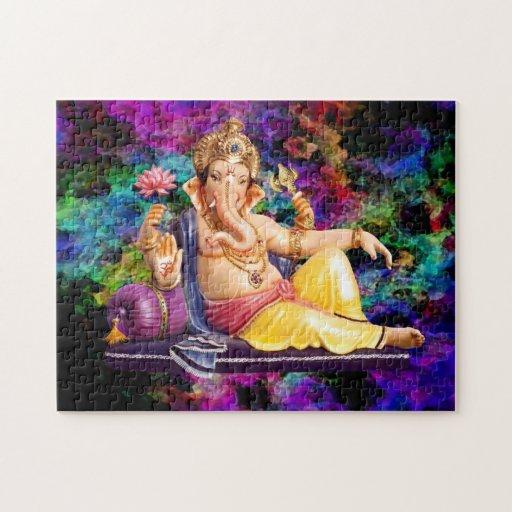 Beautiful Ganesha Puzzle