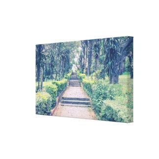 Beautiful Garden Pathway Canvas Prints