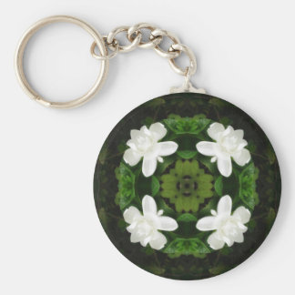 Beautiful Gardenia 5 Kaleidoscope 1 Key Chains