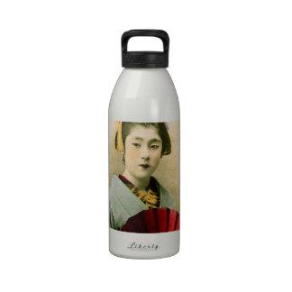 Beautiful Geisha Reusable Water Bottle