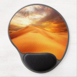 Beautiful Gel Mousepad with nature desert motive Gel Mouse Mat