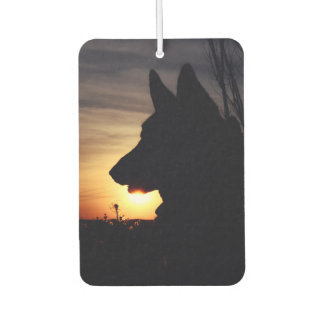 Beautiful German Shepherd Car Air Freshener
