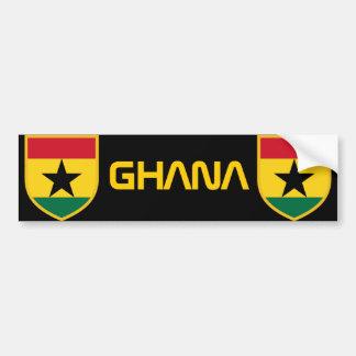 Beautiful Ghana Flag Bumper Stickers