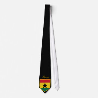 Beautiful Ghana Flag Tie