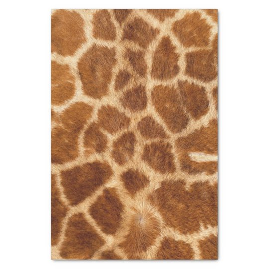 Beautiful Giraffe Print Tissue Paper