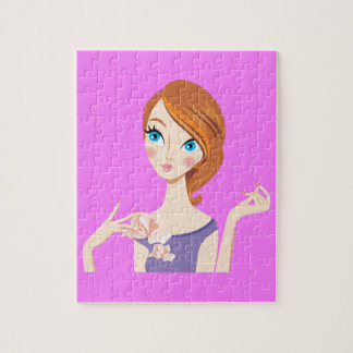 Beautiful Girl Jigsaw Puzzles