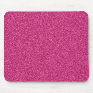 Beautiful girly hot pink glitter effect background mouse mat