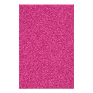 Beautiful girly hot pink glitter effect background stationery