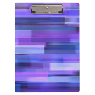 Beautiful Glitter Squares Rainbow Abstract Clipboard