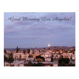 Beautiful Good Morning Los Angeles Postcard! Postcard