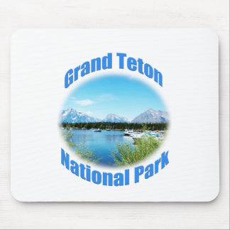 Beautiful Grand Teton National Park photography Mouse Pad