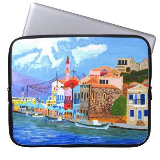 Beautiful Greece Electronics Bag