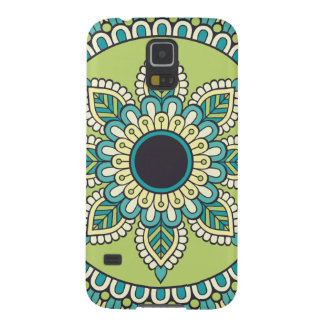 Beautiful green Boho Design Galaxy S5 Case